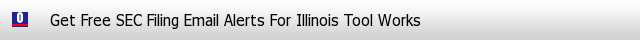 Illinois Tool Works SEC Filings Email Alerts image